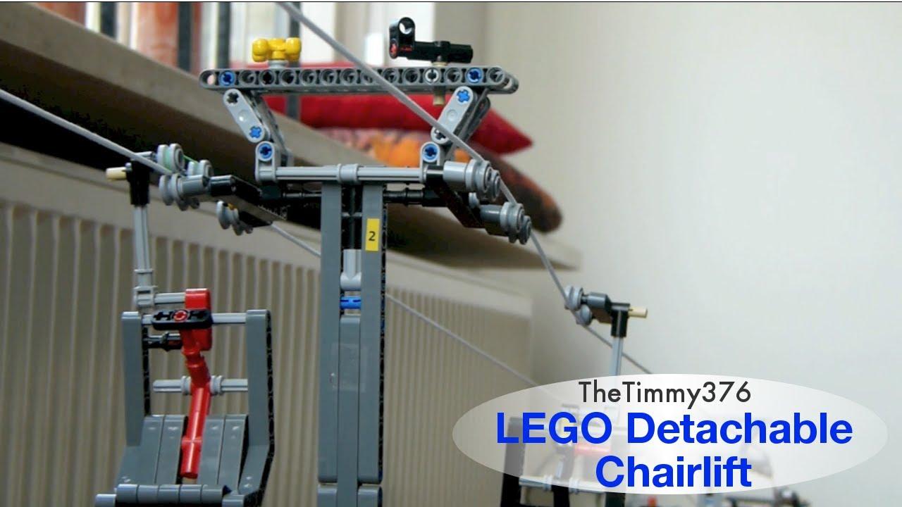 how to make a lego ski lift