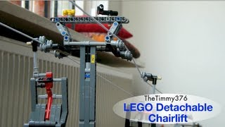 LEGO Detachable Chairlift - Ochsengipfel Express