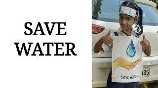 Save Water   English Poem Recitation