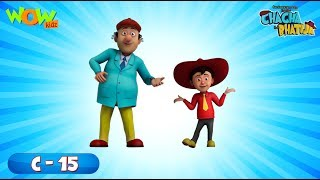 Chacha Bhatija 5 episodes in 1 hour | 3D Animation for kids | #15