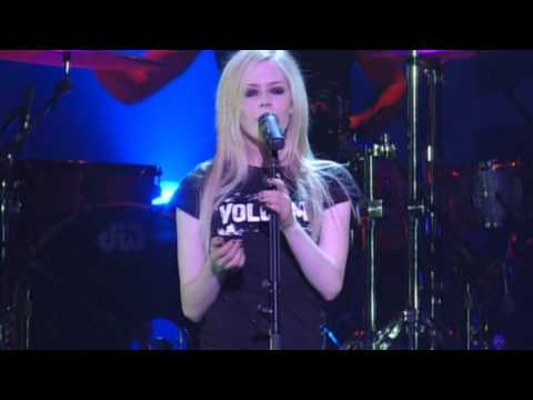 Avril Lavigne Anything But Ordinary Bonez Tour