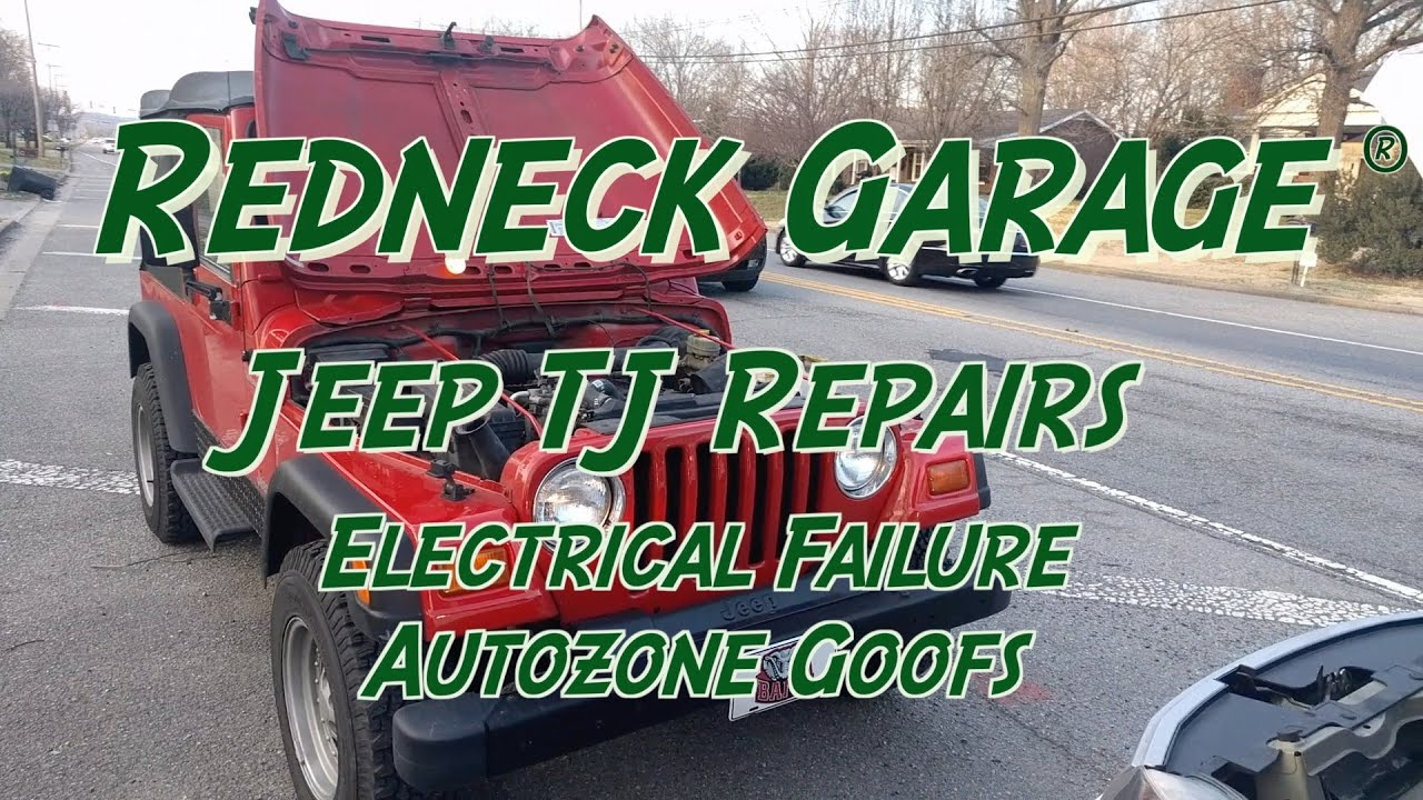 Jeep Wrangler Tj Alternator Replacement Autozone Goofs Youtube Wiring Diagram