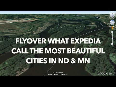 Flyover What Expedia Calls the Most Beautiful Cities in ND & MN