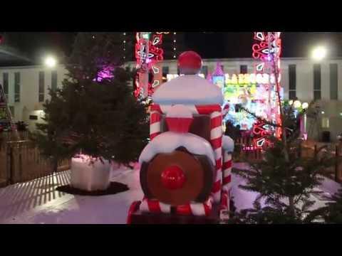 Benidorm Christmas fair 2018 - town hall - ice skating rink