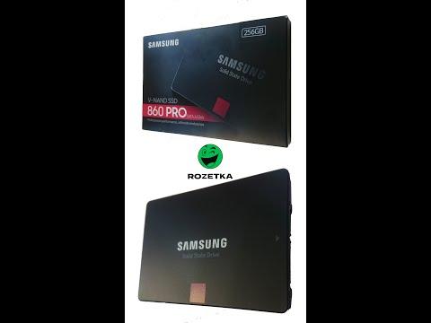 "Samsung 860 Pro series 256GB 2.5"" SATA III V-NAND MLC (MZ-76P256BW)"