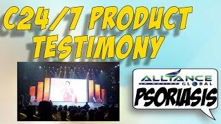 AIM GLOBAL C24/7 Testimony (PSORIASIS)