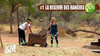 SAFARI GO S2 avec Carole Rousseau sur Gulli !  E1 #3 : La réserve des rangers !