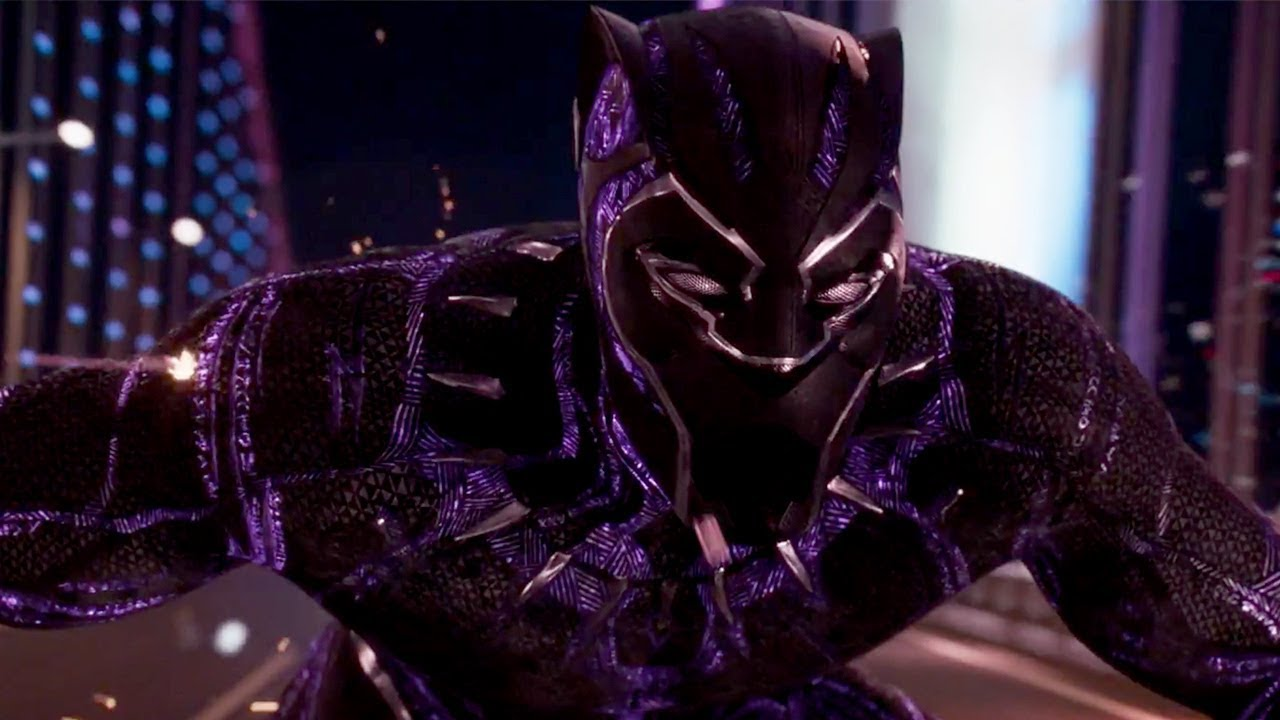 Black Panther 2018 Kinetic Energy Clip Youtube