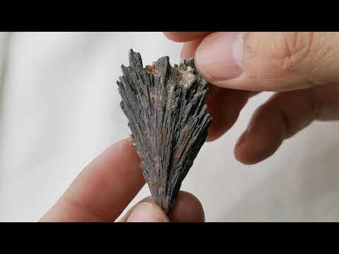 黑色藍晶石原礦Kyanite 03[ DCT Collection ]