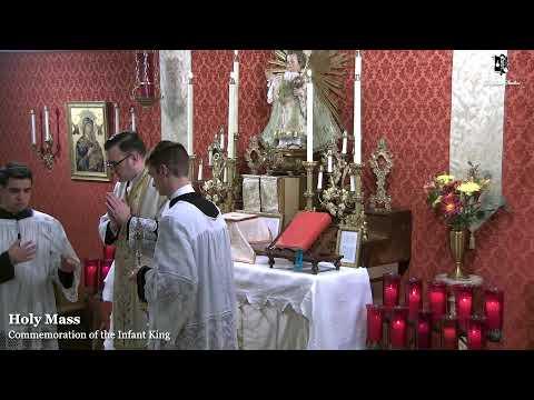 Holy Mass: Infant King Commemoration