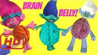 Cutting Open Trolls Brain Belly Compilation Poppy Branch Guy Diamond   Fizzy Toy Show