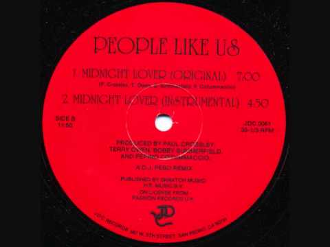 Midnight Lover - People Like Us 1985