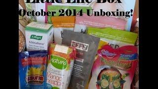 Little Life Box (Vegan) - October 2014 Unboxing! Thumbnail