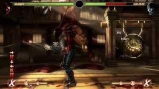 Mortal Kombat Komplete Edition - Skarlet Advanced Combos - Strategy Guide