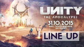Video UNITY - The Apocalypse | Line up release download MP3, 3GP, MP4, WEBM, AVI, FLV November 2017