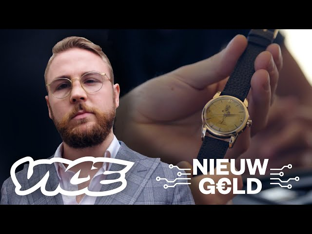 Jasper verdient miljoenen met vintage horloges   Nieuw Geld