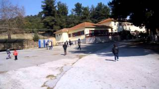 Veria refugee camp Greece