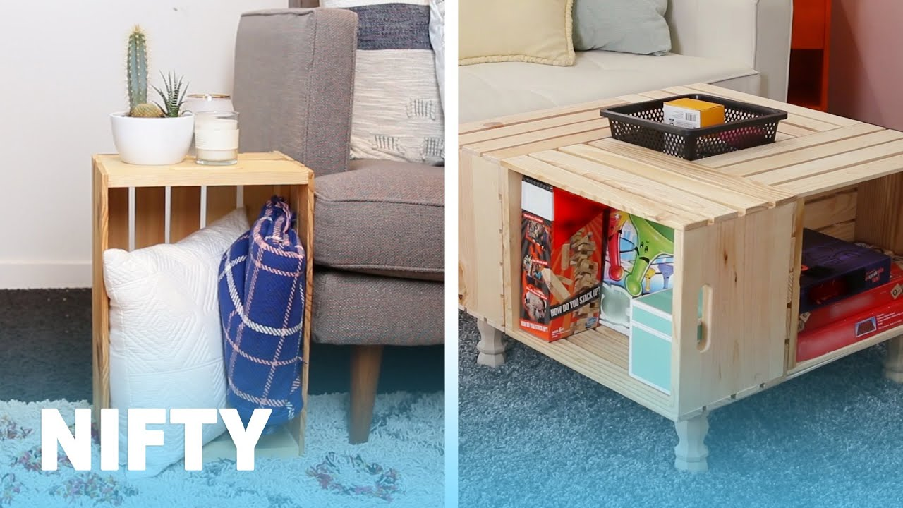 Small Table For Living Room Yellow And Blue Ideas 8 Easy Ways To Add Storage A Youtube