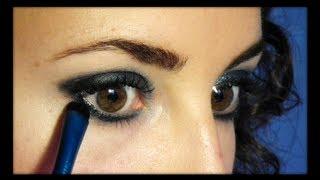 Ojos azul plata