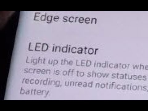 Samsung Galaxy S8: How to Enable / Disable LED Indicator ...