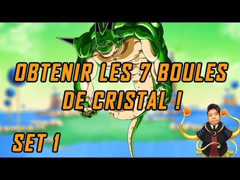 Comment avoir les 7 boules de cristal sur la Globale, 1er set ! - Dokkan Battle