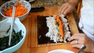 How to roll your own kimbap (김밥)