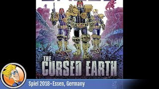 Judge Dredd: The Cursed Earth — game overview at SPIEL
