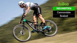 Cannondale Scalpel 2021: Manuel Fumic zeigt sein neues Race-Fully / Worldcup-Bike