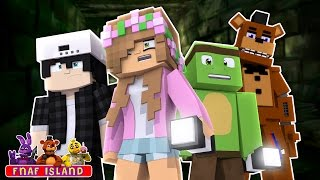 STRANDED ON FNAF ISLAND ALONE! Minecraft Five Nights at Freddies w/LittleKelly,TinyTurtle and Raven