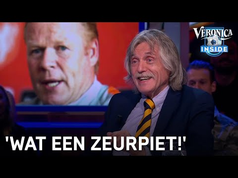 Johan ziet boze Koeman: 'Wat een zeurpiet!'   VERONICA INSIDE