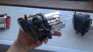 Переделка стандартных противотуманок под светодиодные