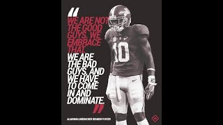Alabama Football Inspiration 2018 / 2019