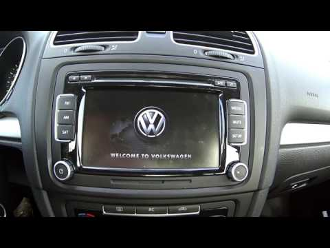 2011 VW Golf In Depth with the Touch Screen Radio and MFD