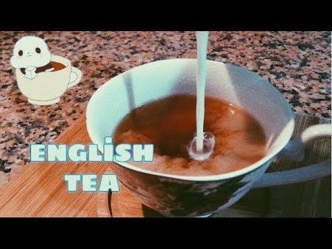 İngiliz  Çay'ı Nasıl Yapılır ? 🇬🇧 ENGLİSH TEA - ASMR - NO Talking