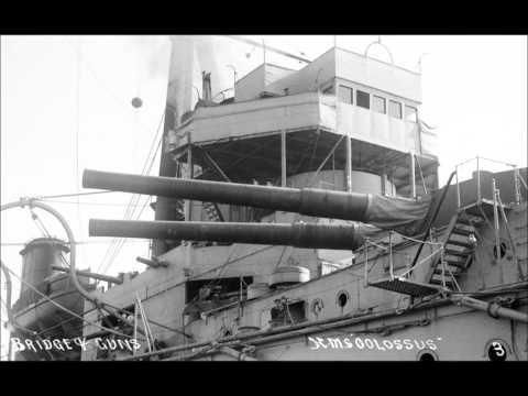 1910 HMS COLOSSUS bristish navy battleship facts history imformation