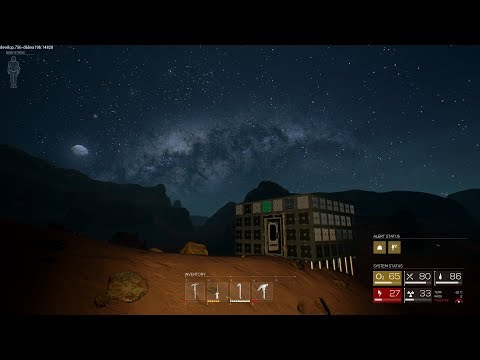 ROKH - Episode 5 - Sand Box amazing at night, building is done.  Solar Power?