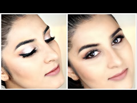 easy stepstep nude makeup look for indian skin tone