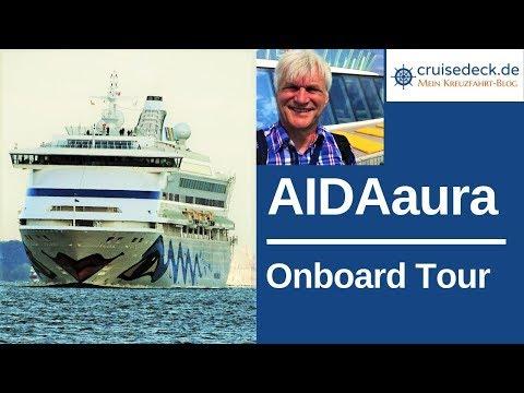 AIDAaura - Onboard Tour