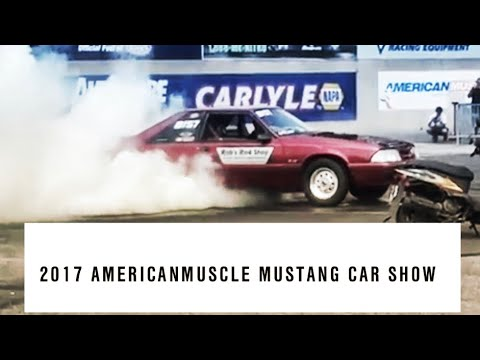 2017 American Muscle 9th Annual Mustang Car Show