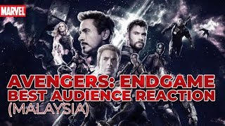 Avengers: Endgame - Best Audience Reactions (Malaysia) [SPOILER!]