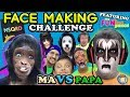 MSQRD Face Making Challenge w  FUNkee Bunch! Funny Face Swap App Game w  FVMa & Pap