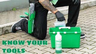 Traditional Window Cleaning: Know Your Tools – Tutorial Video 1 - UNGER
