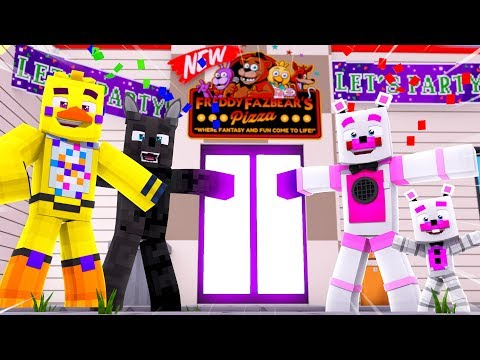 Funtime Freddy's NEW Pizzeria Grand Reveal !! | Minecraft FNAF Roleplay thumbnail