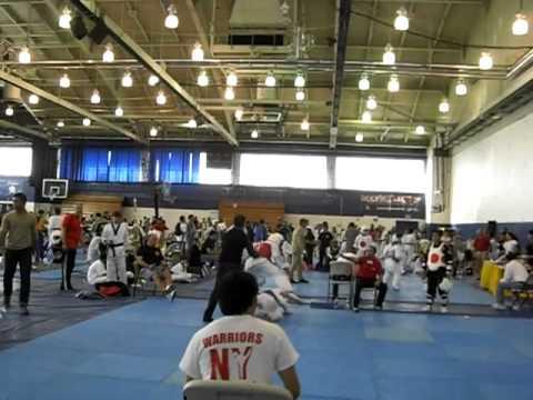 Jose Ledesma's fight - Gold Cup: TKD tournament - Green Belt