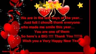 Happy New Year *We Are In The Last Days Of The Year* Sms/Quotes/Whatsapp Video/Greetings/Wishes