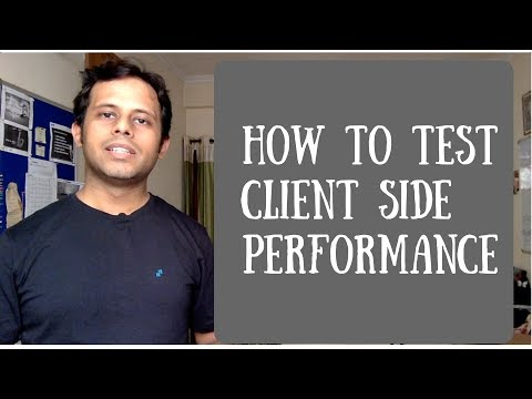 QnA Friday 2 - How to test client side performance of web pages | Client side performance analysis
