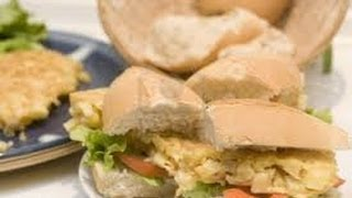 Chicken Salad Sandwiches With Smoked Almonds - Sandwich Recipes