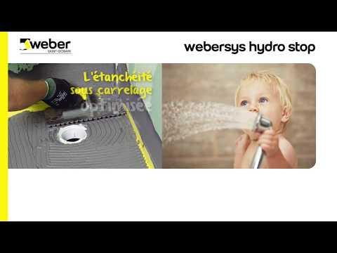 Etancheite Sous Carrelage Webersys Hydro Stop Youtube