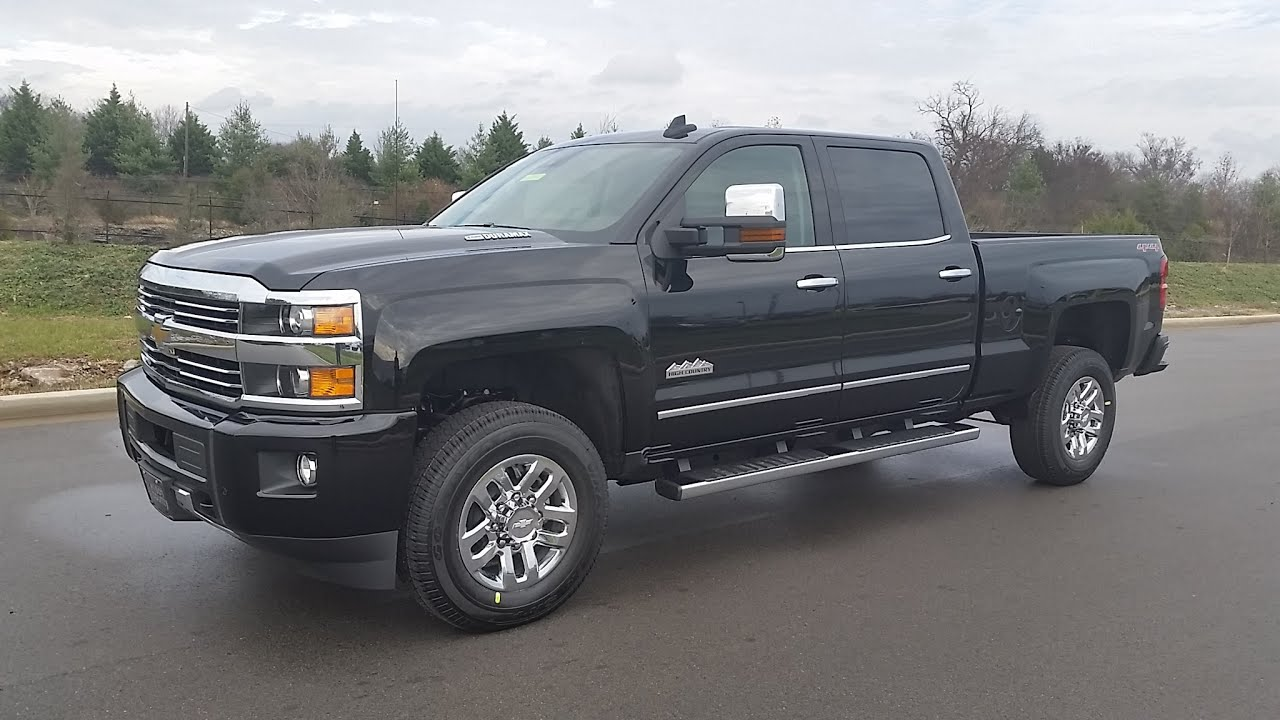 sold 2015 5 chevrolet 3500 hd high country crew cab black duramax 4g lte wifi for sale 855 507 8520 [ 1280 x 720 Pixel ]