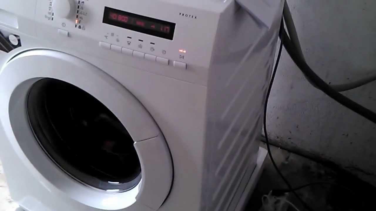 aeg lavamat 75470 fl youtube